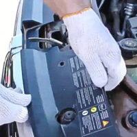 demontaż grilla Duster