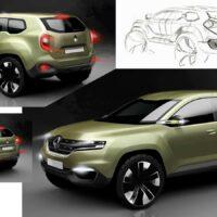 Dacia Duster 2- szkic 11