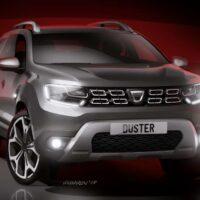 Dacia Duster 2- szkic 4