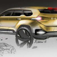 Dacia Duster 2- szkic 9