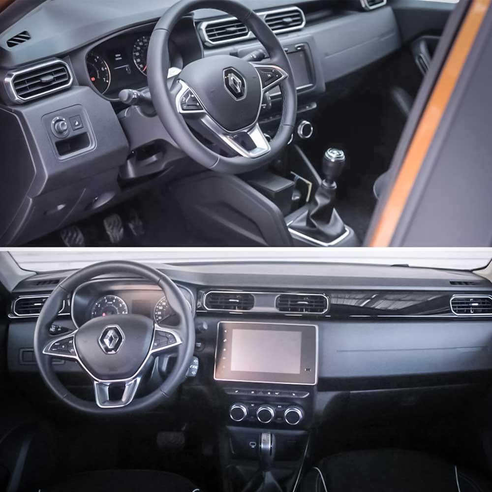 Renault Duster/Renault Arkana - porównanie wnętrz