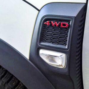 Napisy Duster 4WD
